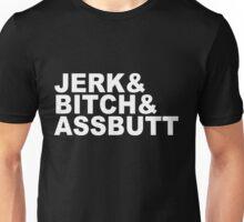 SUPERNATURAL - JERK & BITCH & ASSBUTT Unisex T-Shirt