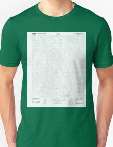 USGS TOPO Map Arkansas AR Mineral Springs North 20110711 TM Unisex T-Shirt