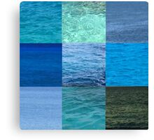 Ocean Blues Canvas Print