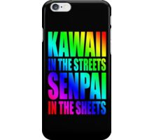 Kawaii in the Streets iPhone Case/Skin