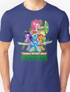 Teenage Mutant Ninja Ponies T-Shirt