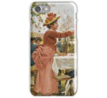 Sorbi, Raffaello - FESTIVITIES IN THE CAMPAGNA iPhone Case/Skin