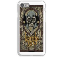 Lamb of God Skull iPhone Case/Skin