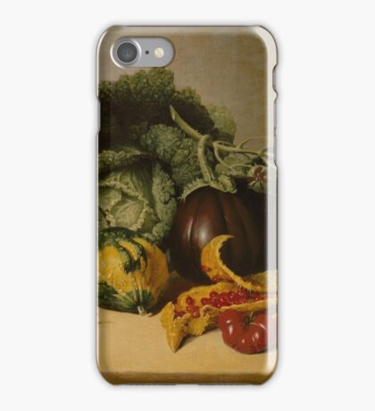 Still Life Balsam Apple and Vegetables iPhone Case/Skin