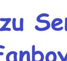 Senzu Sensei fanboy  Sticker