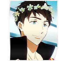 Yamazaki Sousuke Flower Crown Poster