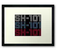 Roland - SH-101 #1 Framed Print