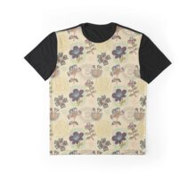 Floral Stamps Graphic T-Shirt