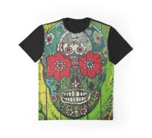 SugarArt Skull streetart graffiti Graphic T-Shirt