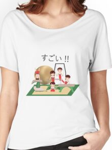 Nippon Team (Japan men's artistic gymnastics team Rio 2016) A Women's Relaxed Fit T-Shirt