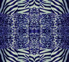 Wild Zebra Sticker