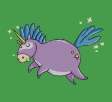Bubbly unicorn One Piece - Short Sleeve