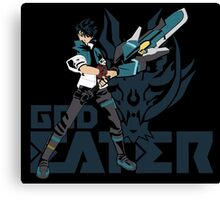 Lenka Utsugi - God Eater Anime Logo Canvas Print