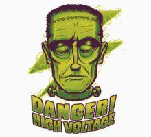 Classic Halloween: Frankenstein's Monster Kids Tee