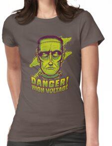 Classic Halloween: Frankenstein's Monster Womens Fitted T-Shirt