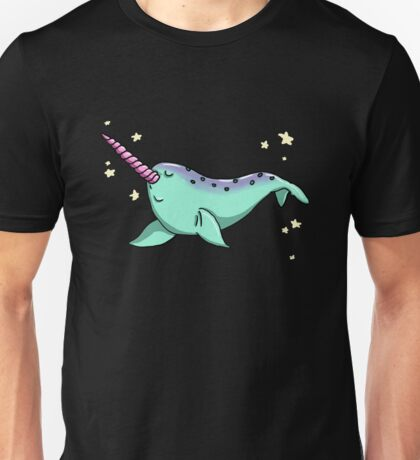 Bubbly Narwhal Unisex T-Shirt