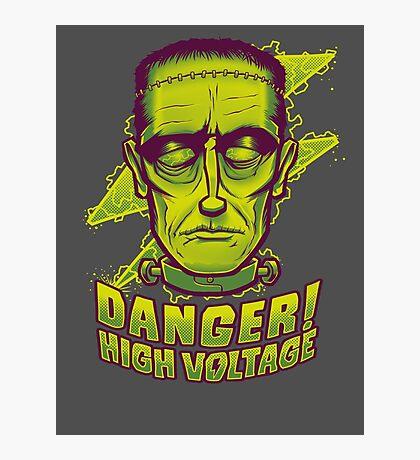 Classic Halloween: Frankenstein's Monster Photographic Print