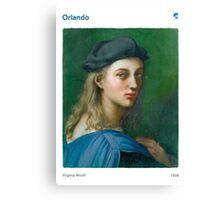 Virginia Woolf - Orlando Canvas Print