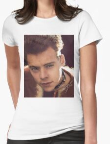 HARRY STYLES - Another Man Cover 1 2016 (No white lines, no letters) Womens Fitted T-Shirt
