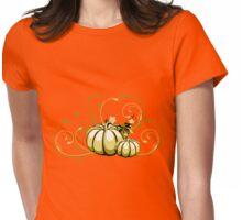 pumpkin Womens Fitted T-Shirt