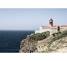 The lighthouse of Cape St. Vincent  Photographic Print