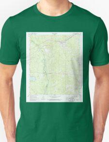 USGS TOPO Map Arkansas AR Kingsland 258869 1966 24000 Unisex T-Shirt