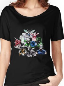 Kid Chameleon - All Transformations Women's Relaxed Fit T-Shirt