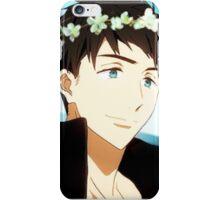 Yamazaki Sousuke Flower Crown iPhone Case/Skin