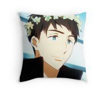 Yamazaki Sousuke Flower Crown Throw Pillow