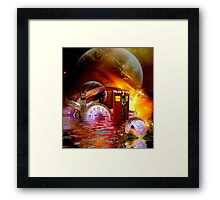 Wrong Turn Halfway Past Arcturus Framed Print