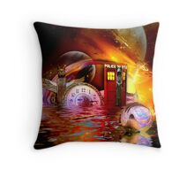 Wrong Turn Halfway Past Arcturus Throw Pillow