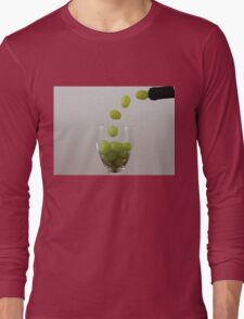 Having a Grape Party Long Sleeve T-Shirt