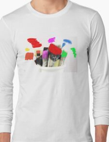 Pot of Many Colours Long Sleeve T-Shirt