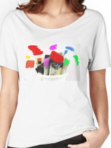 Pot of Many Colours Women's Relaxed Fit T-Shirt