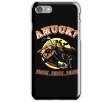 Halloween t-shirt Amuck Amuck Amuck 3 witches fly iPhone Case/Skin