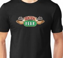 Friends - Central Perk White Outline Variant Unisex T-Shirt