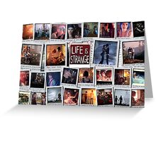 Life is Strange Moments Greeting Card