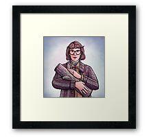 Log Lady, Twin Peaks Fan Art Framed Print