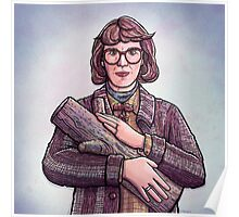 Log Lady, Twin Peaks Fan Art Poster