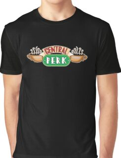 Friends - Central Perk White Outline Variant Graphic T-Shirt