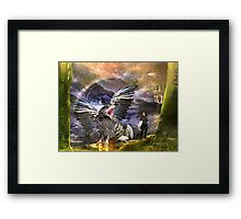 Ivan Meets the Griffin Framed Print