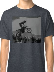 """""""The Scenic View"""" Motocross Racer  Classic T-Shirt"""