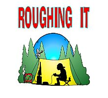 Roughing it Gamer Photographic Print