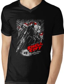 Shell City Mens V-Neck T-Shirt