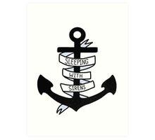SWS Anchor Art Print