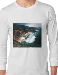 Big Sur Surf and Coastline  Long Sleeve T-Shirt