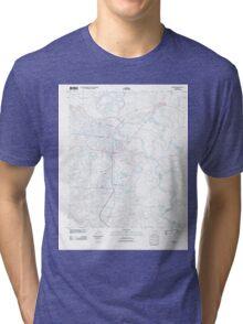 USGS TOPO Map Arkansas AR Camden 20110711 TM Tri-blend T-Shirt