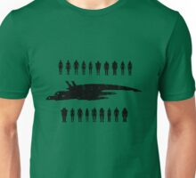 Normandy and the squad 2 Unisex T-Shirt