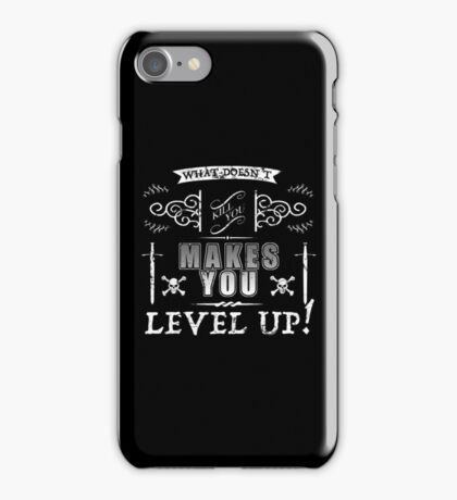 Level Up Gaming Humor iPhone Case/Skin