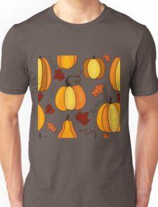 Pumpkin seamless pattern. Unisex T-Shirt